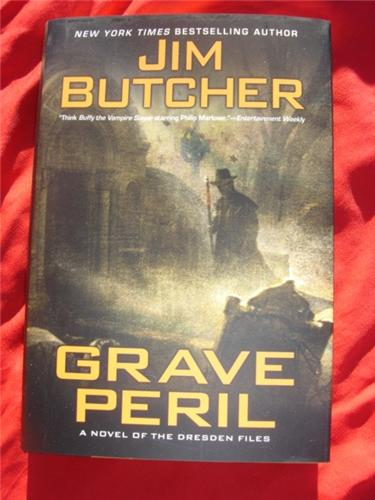 Grave Peril by Jim Butcher - Dresden Files 3 - first edition hardcover hcdj out of print