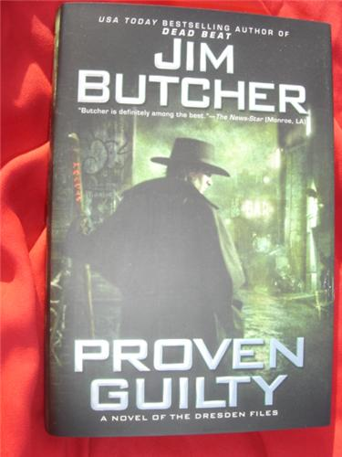 Proven Guilty by Jim Butcher - Dresden Files 8 - first edition hardcover hcdj