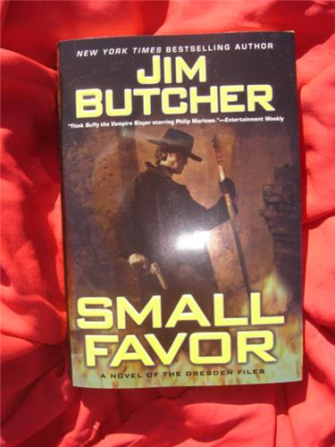 Small Favor by Jim Butcher - Dresden Files 10 - first hardcover hcdj