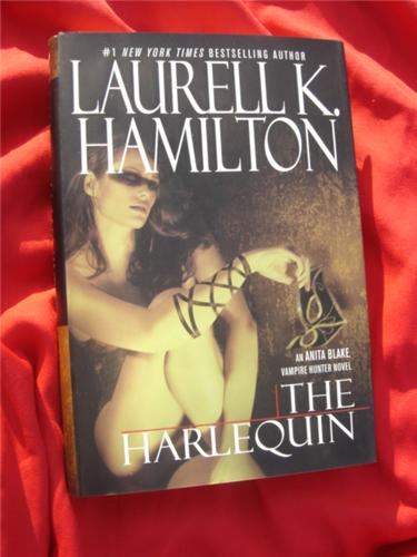 The Harlequin by Laurell K Hamilton - Anita Blake - Hardcover first edition - out of print