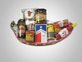 Hot n Spicy Chilehead Pepper shaped Food & Snack Gift Basket