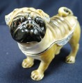 Pug dog trinket box