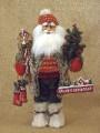 Karen Didion Woodland Ski Santa Claus Figure