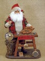 Vintage Santa Clause the Clock Maker Figure Karen Didion