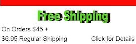 Free Shipping on orders $45 +