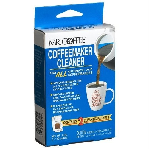 Mr Coffee Maker Cleaning Directions : Mr. Coffee Automatic Drip Coffeemaker Cleaner & Descaler - 9 Pack - The Discount Domicile