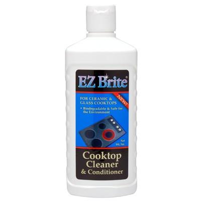 EZ Brite Glass & Ceramic Cooktop Cleaner & Conditioner 7oz Gel