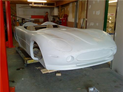 XK180 replica body