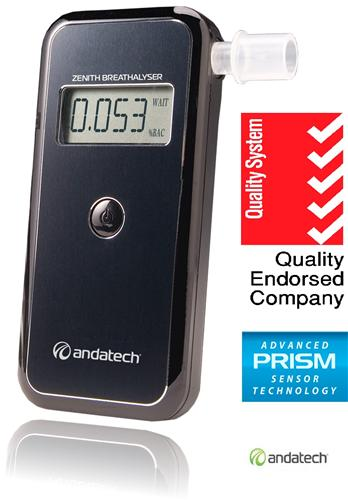 Andatech Alcosense Zenith Alcohol Breathalyser Al7000 Ebay
