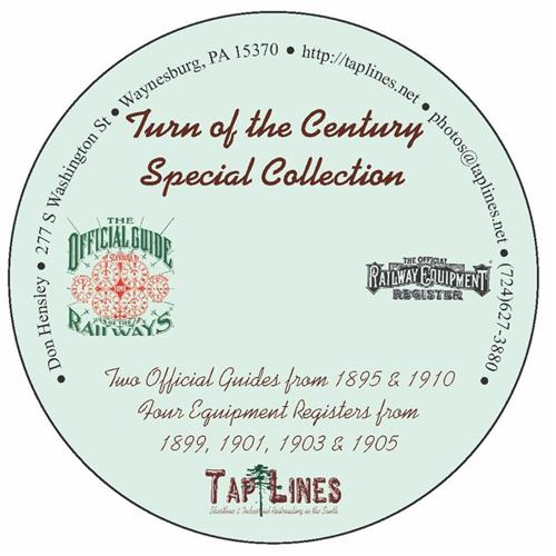 Turn of the Century Collection of Official Guides & Equipment Registers on 1 DVD