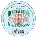 January of 1930 OFFICIAL GUIDE OF RAILWAYS scanned to PDF on DVD