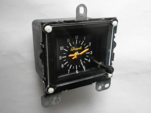 1983 1984 Ford Thunderbird Clock Factory Original Quartz