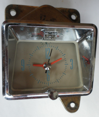 1956 Mercury Clock Will Also Fit 1955 Omicron Clock