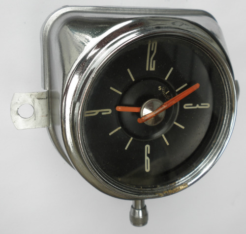 1949 1950 Ford Clock Dated Oct 49 Will Also Fit 1951 Woody Wagon Omicron Clock
