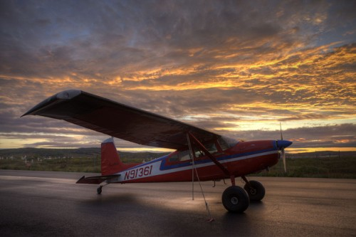 1969 Cessna 180 Jim Tweto Unalakleet Ak Omicron Clock