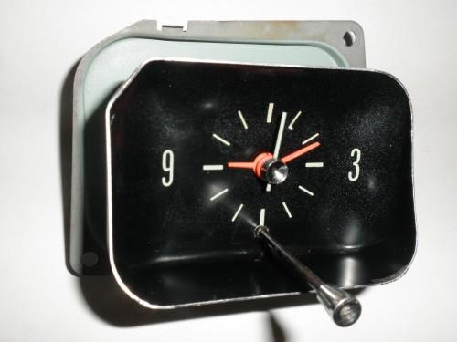 1966 1967 Chevrolet Chevelle El Camino Malibu Clock