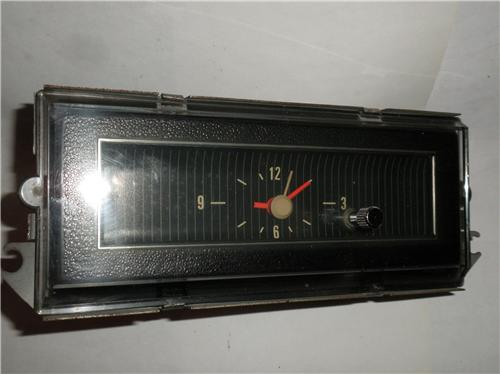 1969 1970 Ford Mustang Clock Part Number C9zf 15000 30