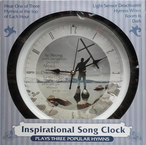 Insprirational Song Quartz Wall Clock 60 Day Guarantee
