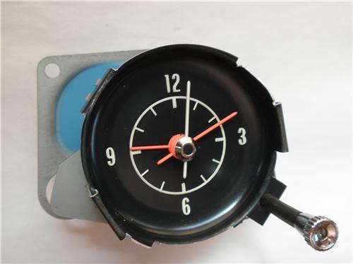 1972 1974 Corvette C3 Clock With Oem Movement 1973 Also