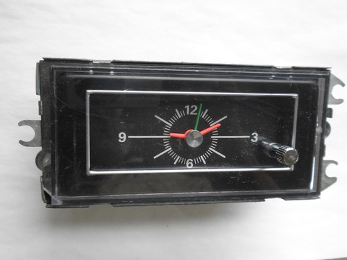 1971 1973 Ford Mustang Mercury Cougar Console Clock 1972
