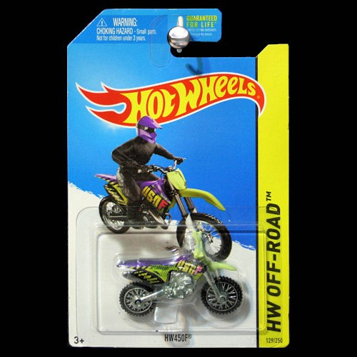 hot wheels 2014 hw off road moto hw450f dirt bike dirtbike. Black Bedroom Furniture Sets. Home Design Ideas