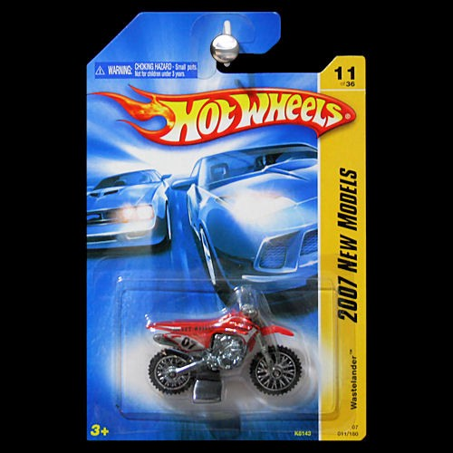 hot wheels 2007 new models wastelander dirt bike dirtbike. Black Bedroom Furniture Sets. Home Design Ideas
