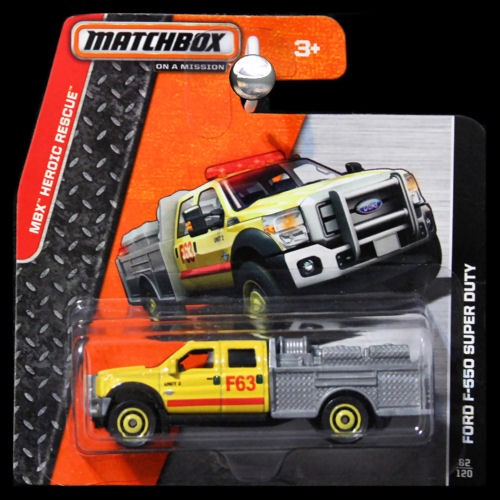 matchbox 2014 mbx heroic rescue ford f 550 super duty mini. Black Bedroom Furniture Sets. Home Design Ideas