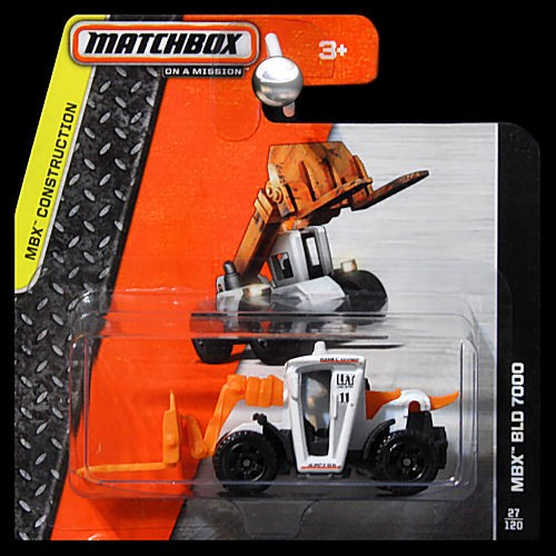 Matchbox 2014 MBX Construction MBX BLD 7000 Fork Lift