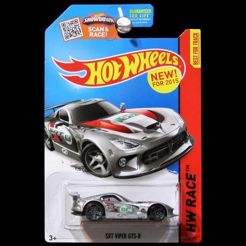 Hot Wheels 2015 Hw Race World Srt Dodge Viper Gt S Gts In