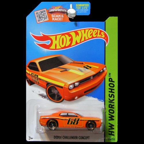 Challenger Concept Wheels Challenger Concept Orange