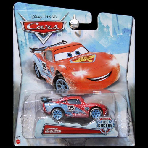 Cars Movie 1:55 Ice Racers Snow Lightning McQueen