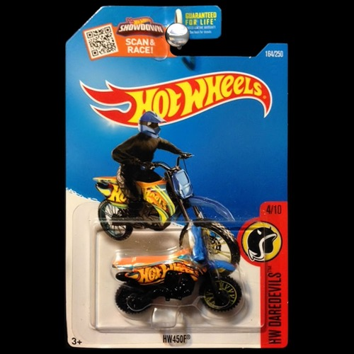 hot wheels 2016 hw daredevils moto hw450f dirtbike dirt. Black Bedroom Furniture Sets. Home Design Ideas