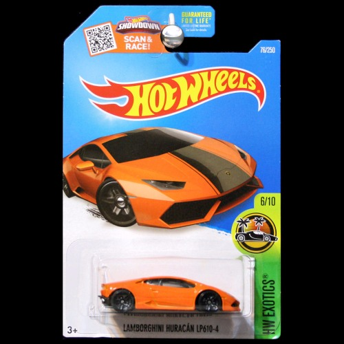Hot Wheels 2016 HW Exotics Lamborghini Huracan LP 610-4 in ...