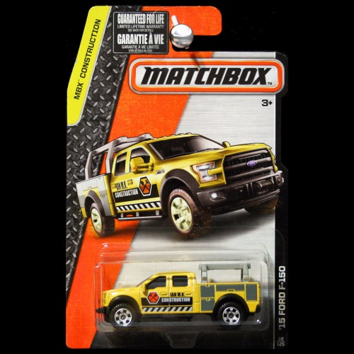 Matchbox 2016 MBX Construction 2015 Ford F-150 Work Truck