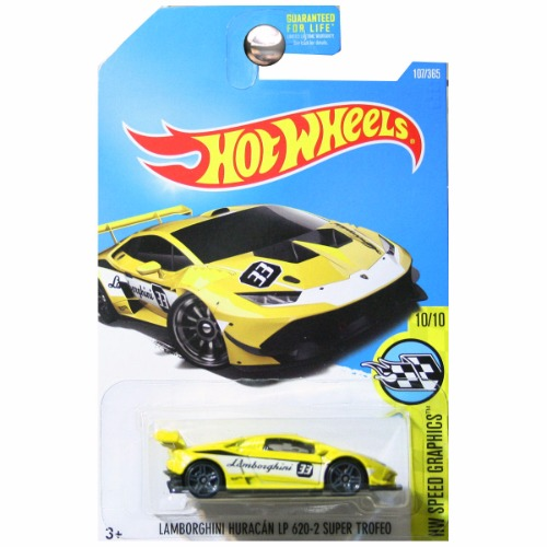 hot wheels 2016 speed graphics lamborghini huracan lp 620 2 super trofeo yell. Black Bedroom Furniture Sets. Home Design Ideas