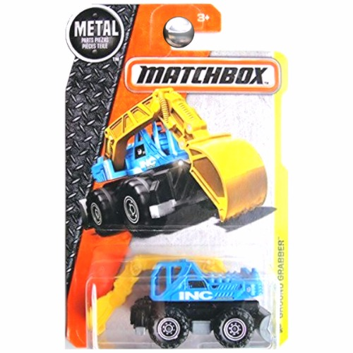 Matchbox 2016 MBX Construction Ground Grabber Tractor INC