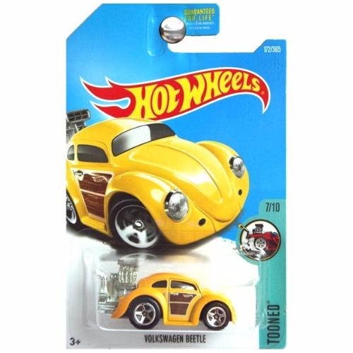 Vw Bug Air Cooled Wheels: Hot Wheels 2017 Tooned VW Volkswagen Beetle Bug Yellow