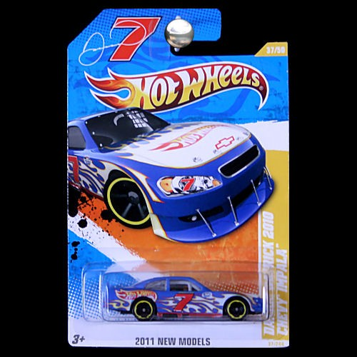 Hot Wheels 2011 New Models Danica Patrick 10 Chevy Impala