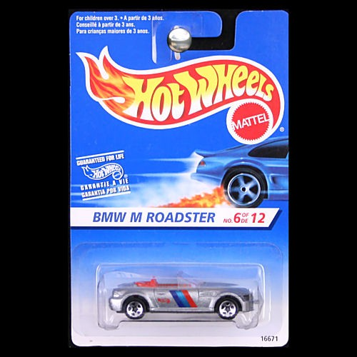 Bmw Z3 M Wheels: Hot Wheels 1997 First Editions BMW Z3 M Roadster Silver