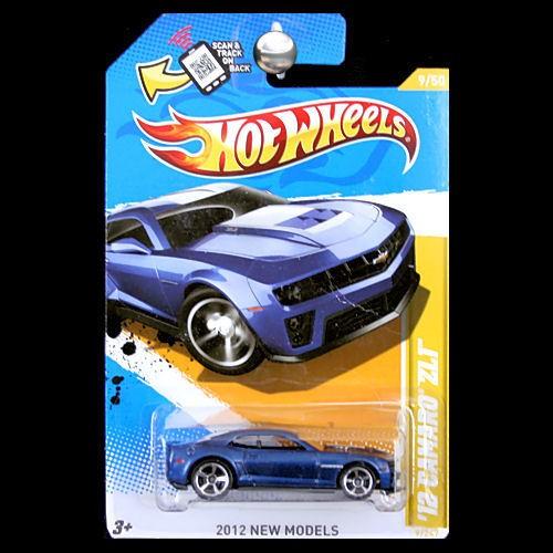 New Chevy Van Hot Wheels 2012 New Models Chevy Camaro ZL1 Blue ...