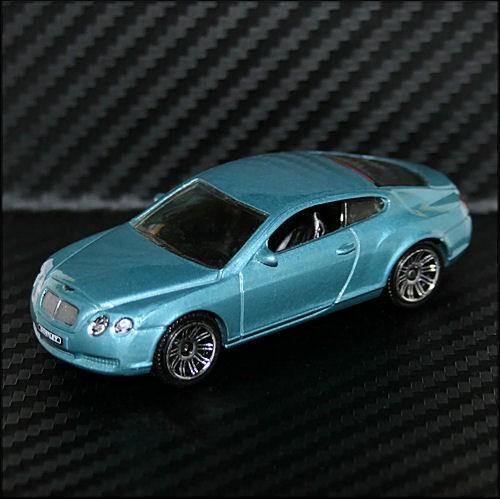 Bentley 2010: Matchbox 2010 VIP Bentley Continental GT Blue Green