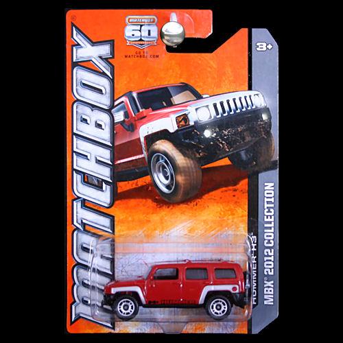 Matchbox 2013 Hummer H3 2012 Collection Red