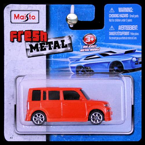 Maisto Fresh Metal 1 64 Scion Xb Hot Lava Orange Copper
