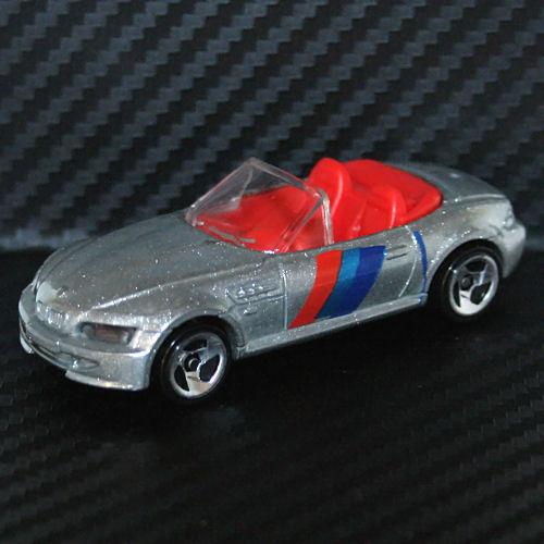 Bmw Z3 M Roadster: Hot Wheels 1997 BMW Z3 M Roadster Silver Convertible