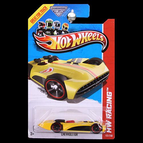 Hot Wheels 2013 Hw Racing Chevroletor Yellow