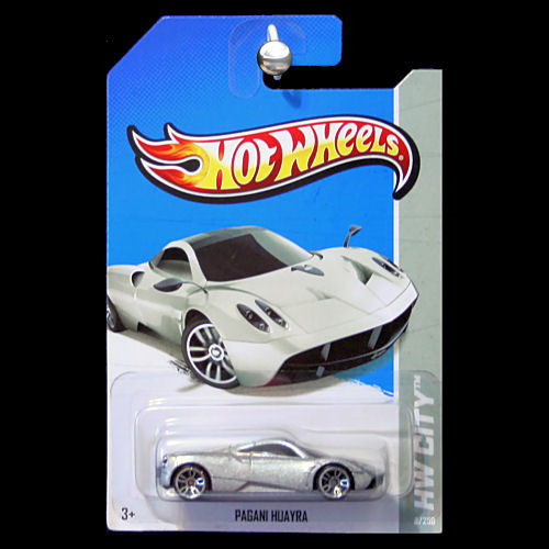 Hot Wheels 2013 Hw City Pagani Huayra Silver