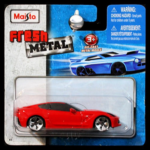 Maisto Fresh Metal 1 64 2014 Chevrolet Chevy Corvette
