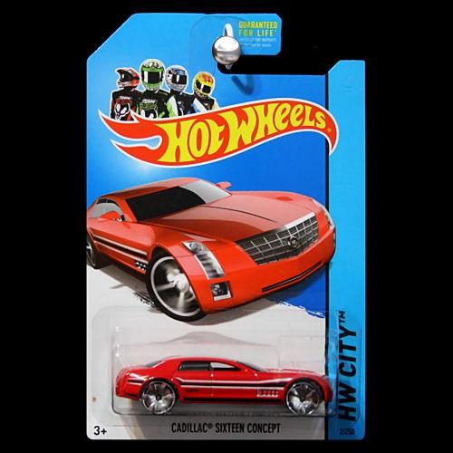 Hot Wheels 2013 Hw City Street Power Cadillac Sixteen