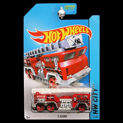 Hot Wheels 2014 HW City 5 Alarm Fire Engine Truck Ladder