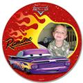 Personalized Disney Photo Plate, Cars Ramone Plate